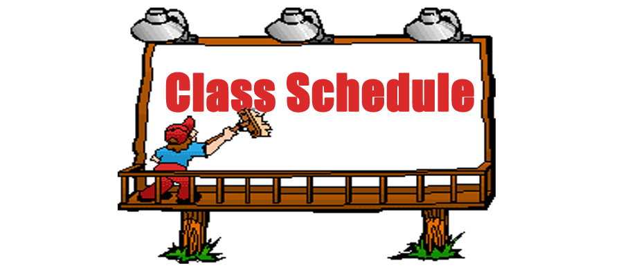 Schedule of Classes at Doral Academy HS OLG Office of Catechesis – Class Schedule